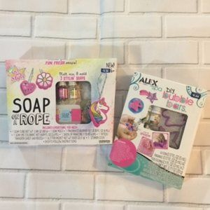 Other - DIY Do It Yourself Bubble Bars Soap on a Rope, 6+